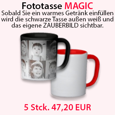 Fototasse MAGIC